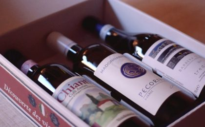 Coffret vin terroirs